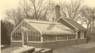 The Village Greenhouse at Brucemore in 1930
