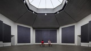 Interior of Rothko Chapel