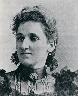 Portrait of a woman, Victoria Earle Matthews, who was a journalist and social worker.