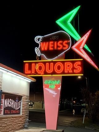 Nashville Sign at Night