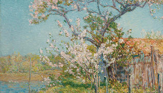 A painting by Childe Hassam.