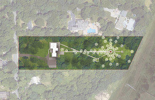Coltrane Home Concept 2: A Structure of Cosmic Sound. Courtesy Nelson Byrd Woltz Landscape Architects.