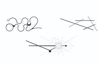 Parti diagrams of three concepts explored by the design team, each inspired by the Coltranes' musical legacy in some way. Courtesy Nelson Byrd Woltz Landscape Architects.