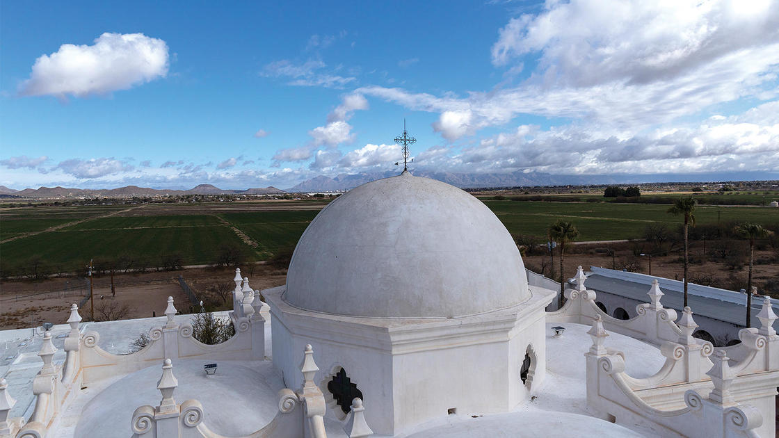 Inside the Latest Conservation Work at Arizona's Spectacular San Xavier del Bac | National Trust for Historic Preservation