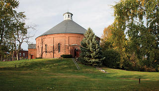 The Concord Gasholder House.